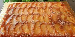 طرز تهیه کیک سیب کاراملی